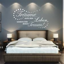 wandtattoo schlafzimmer sprüche haus design ideen