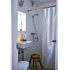 White Cotton Duck Shower Curtain Sturdy Cotton Duck Shower Curtains