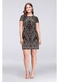 plus size shimmer slinky 2 piece a line babydoll dress lingerie
