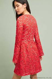 popular ml monique lhuillier red rose garden dress for women