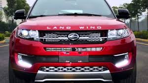 land wind land wind chinese copy of land rover evoque youtube