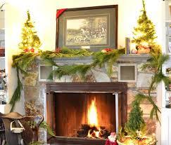 Christmas Decoration Ideas Fireplace Elle Decor Fireplace Mantels Holiday Tuscan Mantel Decorative