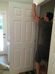 Menards Bed Frame Decor White Wooden Menards Closet Doors For Chic Home Decoration