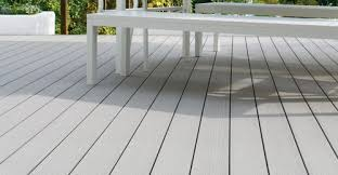 discover our grey composite decking