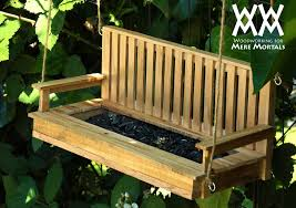 Bench Updater Pallet Wood Porch Swing Bird Feeder Woodworking For Mere Mortals