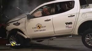 mitsubishi l200 2015 euro ncap crash test of mitsubishi l200 2015 youtube