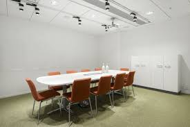 Conference Room Decor White Meeting Room Decor Ideas With Rectangle White High Gloss