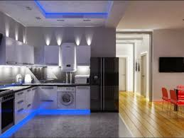 Kitchen Overhead Lighting Ideas Techos Modernos Con Luces Led Integradas 50 Ideas