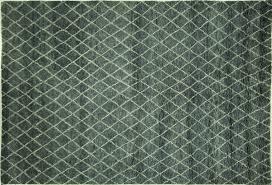Handmade Moroccan Rugs 6 U0027x9 U0027 Blue Handmade Moroccan Hand Knotted Geometric Oriental Wool