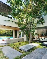 home courtyard indoor courtyard house