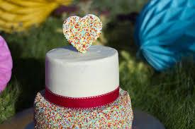 funfetti cake gâteau confettis
