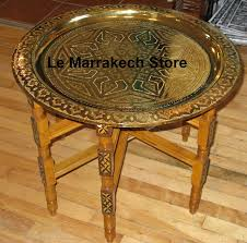 moroccan tea table stand moroccan brass table with wood stand moroccan brass table brass