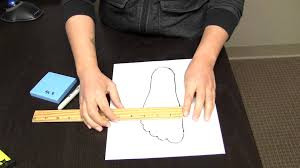 how to measure your feet at home youtube