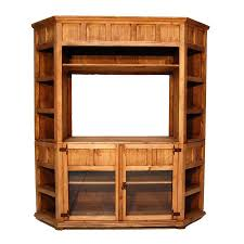 Million Dollar Furniture by Shop Million Dollar Rustic Rustic Corner Tv Stand At Lowes Com