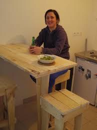 fabriquer une table haute de cuisine chambre fabriquer une table haute fabriquer table haute cuisine