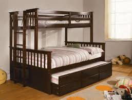 university i espresso or oak finish twin full bunk bed