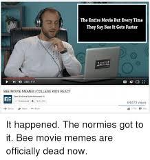 College Kid Meme - 4 2031917 l bee movie memes college kids react fine brothers