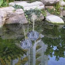 Solar Floating Pond Lights by Outdoor Solar Pond Fountain Floating Lily Water Fountain Decor Kit