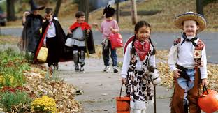 trick or treating children pictures 2018