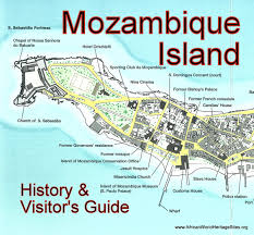 Mozambique Map Island Of Mozambique Mozambique African World Heritage Sites