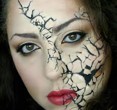 face makeup halloween easy face makeup ideas for halloween 32