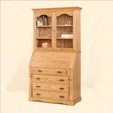 Secretary Desk With Drawers by Traditional Secretary Desk With Hutch