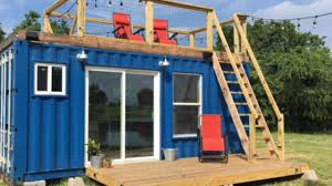 Tiny Homes Houston by Rustic Retreat Shipping Container Tiny House 29 9k Youtube