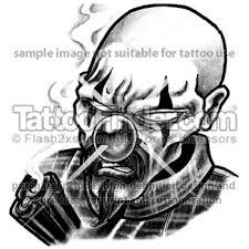 gangster clowns clown tattoos http tattoofinder com tattoos
