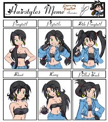 Meme Hairstyles - hairstyles meme by iandimas on deviantart