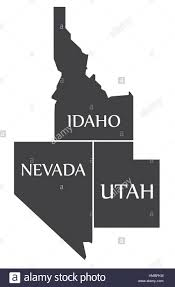 Map Of Idaho And Utah by Utah Idaho Border Stock Photos U0026 Utah Idaho Border Stock Images