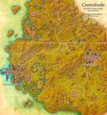 Solstheim Map Greenshade Zone Map Province In Aldmeri Dominion Alliance