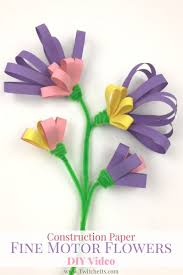 the 25 best construction paper flowers ideas on pinterest