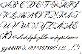 calligraphy font fontscape home handmade handwriting formal copperplate