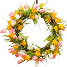 Tulip Wreath Tulip Wreaths Darby Creek Trading