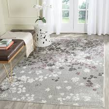 4 X 8 Area Rugs Amazon Com Safavieh Adirondack Collection Adr115m Light Grey And