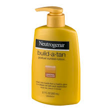 All Natural Sunless Tanning Lotion Neutrogena Build A Tan Gradual Sunless Lotion 6 7 Fl Oz Walmart Com