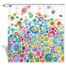 Bright Colored Curtains Interesting Design Colorful Shower Curtain Stunning