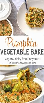 pumpkin vegetable casserole vegan pumpkin casserole recipe