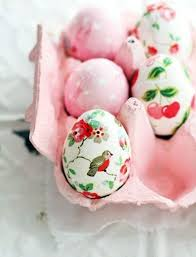 pink easter eggs make easter eggs with decoupage interior design ideas avso org