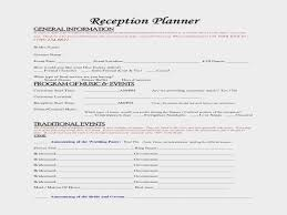 wedding reception planner reception checklist for wedding planner inspirational great