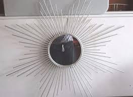 Mid Century Modern Wall Mirror Brutalist Nail Wall Art Mid Century Modern Vintage Sunburst Blog