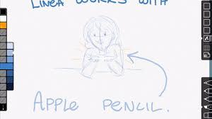 linea is the best ipad sketching app youtube