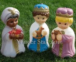 Outdoor Nativity Lighted - outdoor nativity three wisemen 18