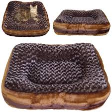 Puppy Beds Luxury Designer Square And Rectangle Cloud Nine Custom Made Dog Bed