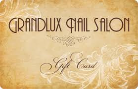 nail salon gift cards gift card grandlux nail salon