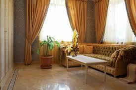 fresh curtain living room design 11326