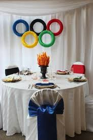 Olympic Themed Decorations Unwy 6382 Olympics Centerpieces And Olympic Idea