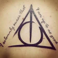 deathly hallows symbol tattoo the world u0027s 1 harry potter