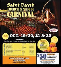 halloween city davie florida saint david catholic church