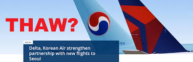 Seoul Flag Delta Air Lines U0026 Korean Air Deepen Partnership Loyaltylobby